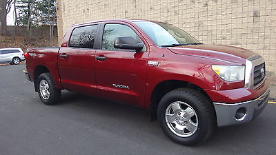 2008 Toyota Tundra CrewMax 5.7L 4WD TRD OFF ROAD NO RESERVE ALL POWER VERY CLEAN 4 DOORS CREW  TRD OFF ROAD LIFTED 4WD NEW TIRES