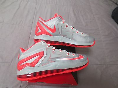 Nike Air Max Lebron XI 11 Low Mens 2014 Basketball Shoes size 11.5 12 DS $170!