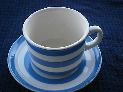 Cornishware TG Green Duo (cup & saucer) chip