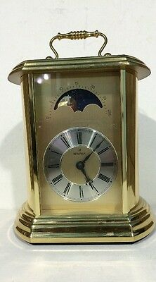 Moon Phrase Clock Montreux Carriage Mantel Hermle 2100 Clock