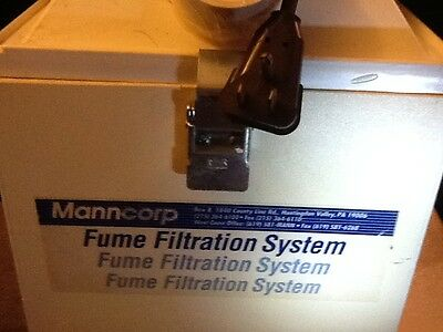 Manncorp Fume Filtration System and hose. Works.