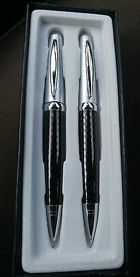 Pierre Cardin Deluxe pattern  Pen and Mechanical Pencil Set Gift Box