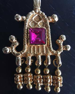Christian Lacroix Vintage Brooch Excellent Condition Made In France