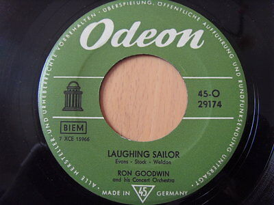 """""""7"""" Ron Goodwin And His Orchestra – River Kwai March / Laughing Sailor ODEON"""