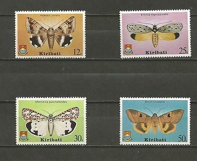 KIRIBATI -1980 Moths  - MINT UNHINGED SET.