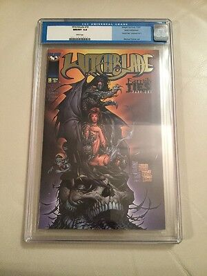 Witchblade #18 CGC 9.8 - Gold Foil Michael Turner Variant Family Ties 1