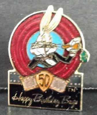 Warner Brothers Bugs Bunny 50th Anniverssary Tac Pin