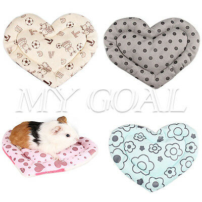 Rat Hamster Sleeping Bed Mat Ferret Squirrel Pet Guinea Winter Cage Soft House