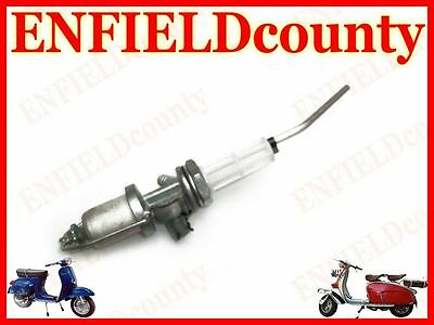 New Vespa  Fast Flow Petrol Fuel Gas Tap Assembly With Reserve All Models @cad