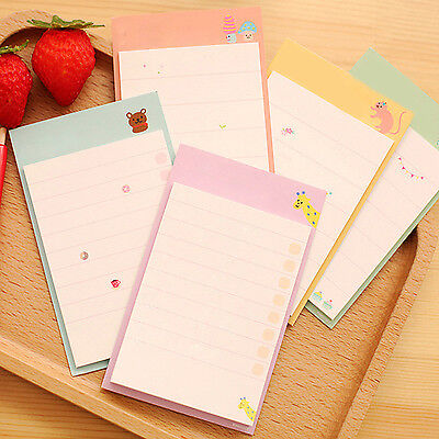 SP Cute Daily Planner Post It Bookmark Marker Memo Sticky Notes Notepad Check