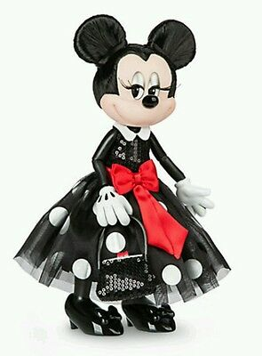 Disney 3D Minnie Maus Puppe Limitierte Edition Micky Maus  Mickey  Mouse