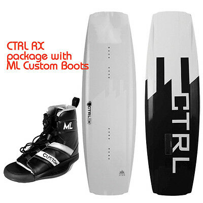 140cm CTRL RX Wakeboard with Large ML Custom Boots
