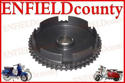 Lambretta Scooter Genuine Sil Chain Sprocket 47 Cogs Gp Sx Li S Tv Series   @cad