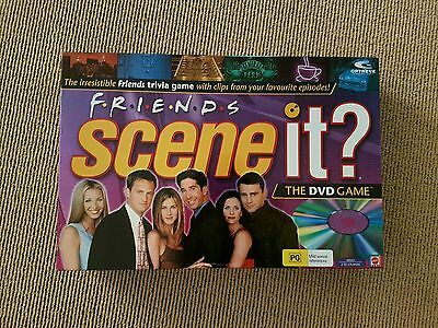 Friends Scene It trivia DVD board game Excellent Condition Fast Postage!