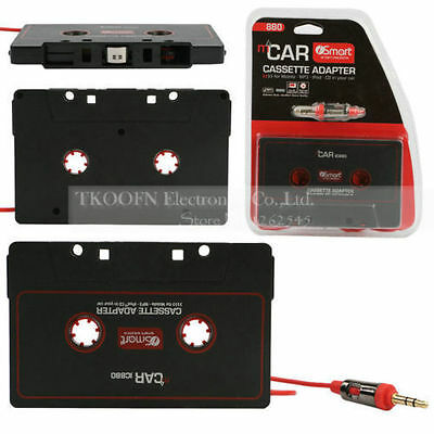 UK Local Audio MP3 Car Cassette Tape Adapter CD NANO 3.5mm JACK AUX For iPhone