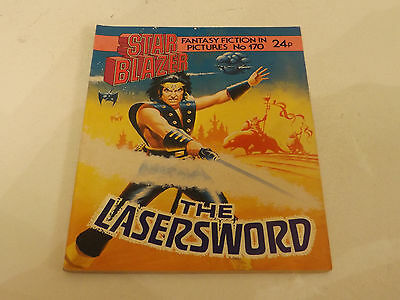 Starblazer Picture Library,no 170,1986 Issue,good For Age,very Rare Sci-Fi Comic