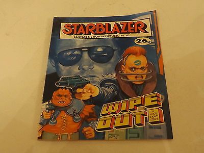 Starblazer Picture Library,no 203,1987 Issue,good For Age,very Rare Sci-Fi Comic