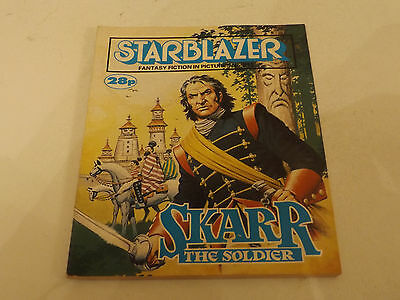 Starblazer Picture Library,no 213,1988 Issue,good For Age,very Rare Sci-Fi Comic