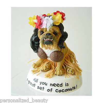 NEW Collectible Zelda Wisdom BULLDOG Figurine All You Need Great Set of Coconuts