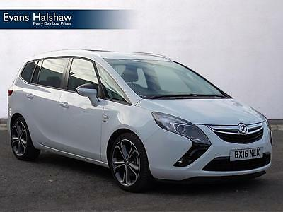 2016 Vauxhall Zafira Tourer SRI CDTI S/S Diesel white Manual