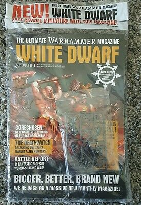 Slaughter Priest and White Dwarf