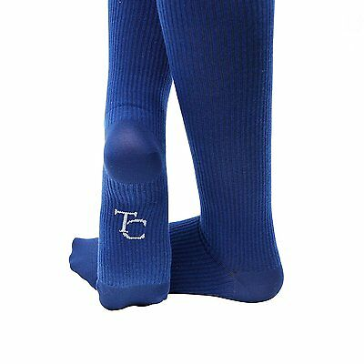 Travel Clever Unisex Compression Socks - Colour: Navy Blue | Size: Extra Large