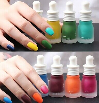 New Fashion 30 Colors 10ML Fragrance Frosted Matte Bottle Nail Polish Candy