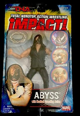 """TNA WRESTLING ACTION FIGURE ABYSS IMPACT NEW 6"""" 2005 Free Post"""