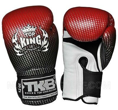 Top king Superstar Mauy Thai Boxing Gloves MMA12oz