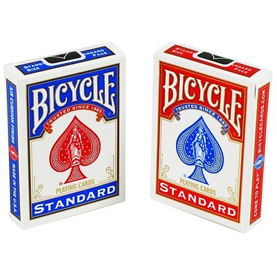 BRAND NEW BLUE Deck of Bicycle US Standard Playing Cards Card Sealed Poker