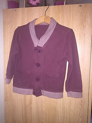 Boys Cardigan Aged 2-3 From Matalan