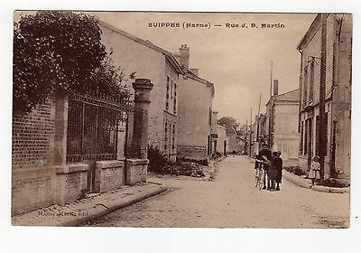 CPA 51 - Suippes ( Marne ) - rue J.B Martin