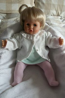 """Zapf Creation Baby Lou 18"""" Doll with Soft Body for Play or Reborn"""