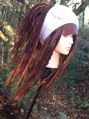 MADE TO ORDER Dreadlock Wig Wool Dreads Bangs Fringe Dread Cosplay Chemotherapy
