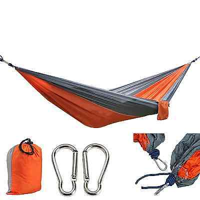 Camping Hammock Nylon Parachute Fabric , Portable Great for Travel
