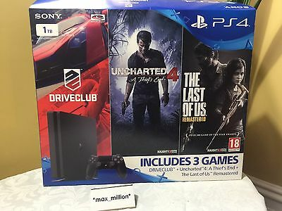 Sony Ps4 Empty Box Only And Inner Box. Special Cover Art. No Hardware Included