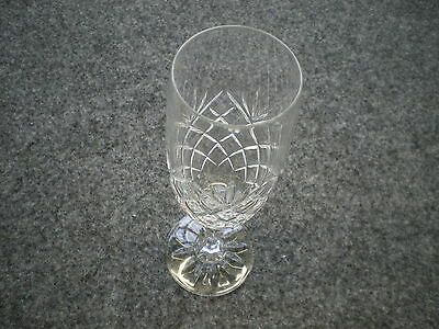 Galway crystal champagne flutes