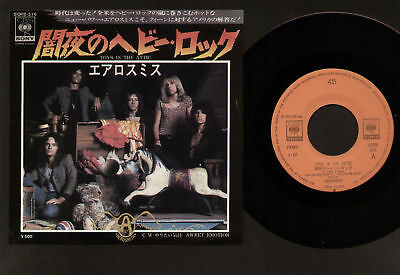 """7"""" Aerosmith Toys In The Attic / Sweet Emotion Made In Japan 1975 Great Copy"""