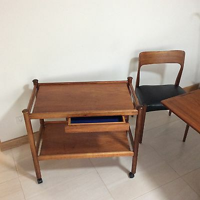 Retro Danish Tea / Drinks Trolley By Parker Deliver To Adelaide Areas