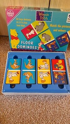 Winnie the Pooh - complete set of dominoes. VGC