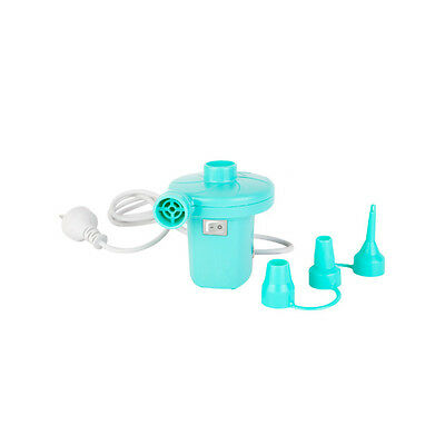 NEW SunnyLife Turquoise Electric Air Pump