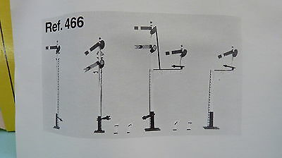 Ratio OO Gauge (Suit Hornby) KIT. 466 GWR Square Post Signals. VGCB