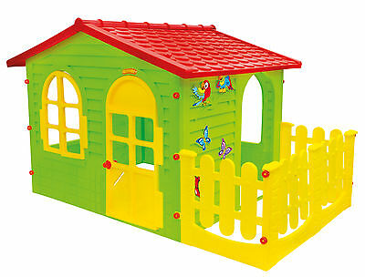 PLAYHOUSE WITH FENCE | LARGE - 190x127x118 cm | [ OFF SEASON SALE ]