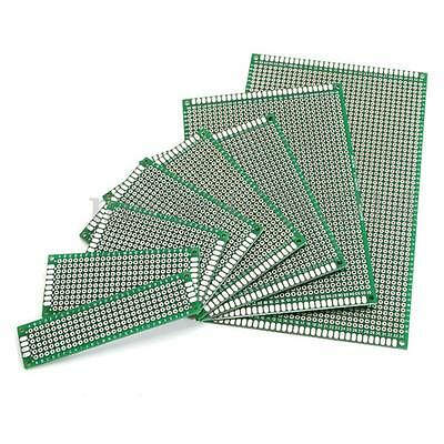 4Pcs Double Side Prototype PCB Stripboard Universal Printed Solder Circuit Board