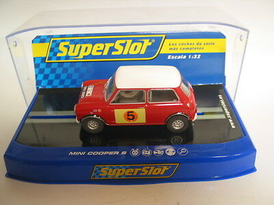 Scalextric C3747 Mini Cooper S Rac Rally 1966 Graham Hill Max Boyd Mint Boxed