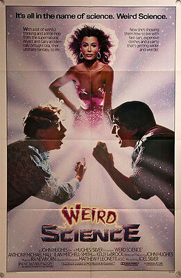 WEIRD SCIENCE US One Sheet Film Poster(1985) Anthony Michael Hall, Ilan