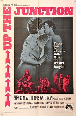 UP THE JUNCTION Original US One Sheet (1968) British film - Suzy Kendall -