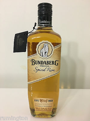 Bundaberg Spiced Rum - original label.