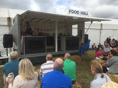 Mobile Box Trailer for Sale - Exhibition/Display/Sample/Catering Trailer/Unit