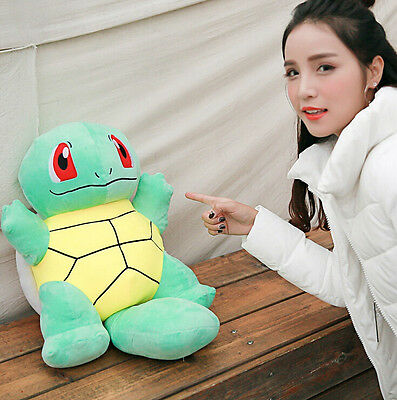 2016 NEW Pokemon Go Squirtle Plush Soft Teddy Stuffed Dolls Kids Toy 60cm